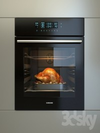 Built-in oven Samsung NV70H5787CB