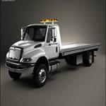 Turbosquid International DuraStar Tow Truck 2002