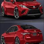 Turbosquid 3D 2018 Toyota Camry