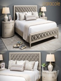 Bed Caracole Diamonds are Forever