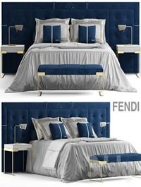 Bed fendi pincio bed