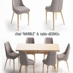Table set, Boras table, Marble chair