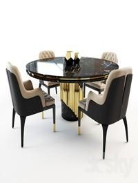Charla chair and Littus table