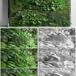 Cgtrader Vertical Garden 2 3D model