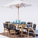 Outdoor furniture Palmer Rope