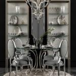Miramont Round Dining Table (Bernhardt)