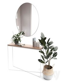 Decorative set Design Twins Set 01