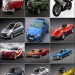 Car 3D Model Bundle August 2019