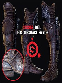 ArtStation - Stiching Tool For Substance Painter