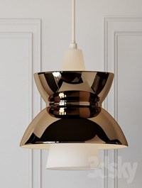 Doo-wop Pendant Light - By Louis Poulsen