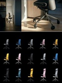Vitra Pacific Office Chairs 3D Models