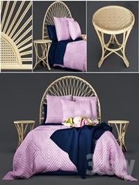 Newport Quilted Velvet Bed Linen