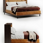 Twelve AM bed by Molteni & C
