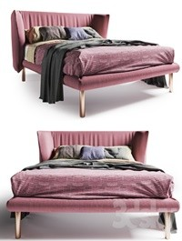 Bed BOLZAN JILL SOTTILE