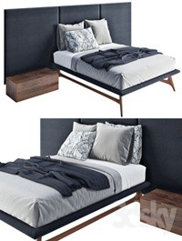 Bolzan bed Collection SMILE