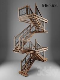 ladder chalet