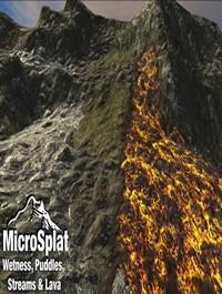 Unity MicroSplat Puddles, Streams, Lava & Wetness v2.7