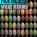 Cgtrader Stylized Texture Pack VOL 5 Texture