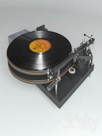 Vinyl player 47 Laboratory 4724 Koma