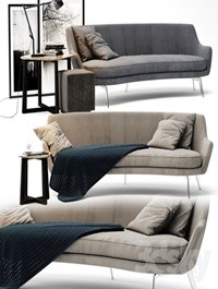 Flexform Guscio Sofa
