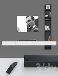 TV wall 030
