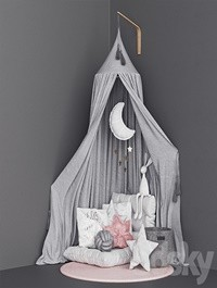 Moon canopy set