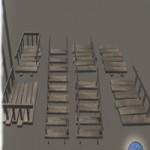 Stairs Floor Wood Pack