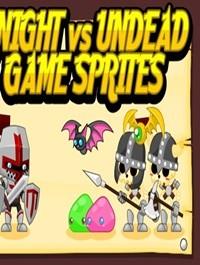 Knight vs Undead Game Sprites
