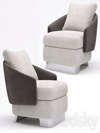 Minotti Lawson Medium Armchair
