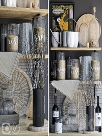 Decorative set for the kitchen 5
