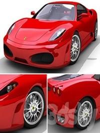 3D model Ferrari F430