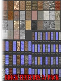 Brick Textures 34 Pack