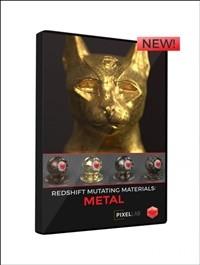 Pixel Lab Redshift Mutating Materials: Metal