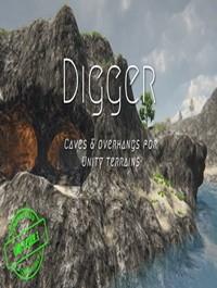 Digger Terrain Caves & Overhangs