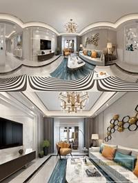 360 Interior Design 2019 Living Room Y01