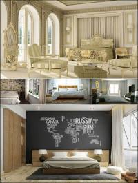 Bedroom 3D Interior Scene Collection