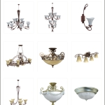 10ravens 3D Models collection vol 022 Classic lights 02