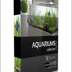 CGAxis Models Volume 24 Aquariums