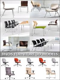 Office Furniture 3D Models