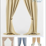 3DDD Curtains Collection