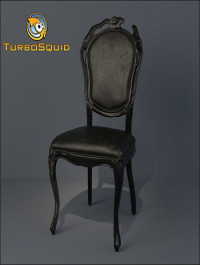 TurboSquid Moooi Smoke Dining Chair