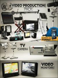 The Pixel Lab 3D Video Production Pack for Element 3D format