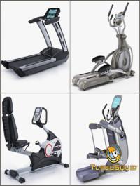 TurboSquid treadmill 3d model