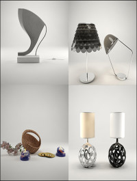 3D Models Light and Decoration