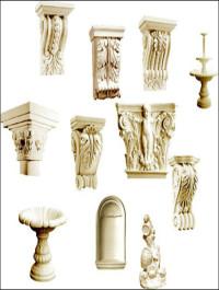 Decorative Gypsum 3D Models part 2