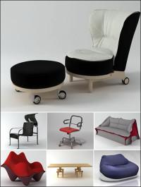Luxury Set of Chair by Ronen Bekerman