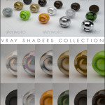 V-Ray materials collection on categories