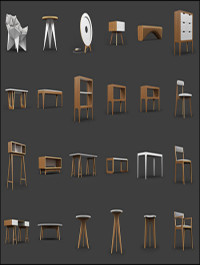 25 Free 3D Furniture Model by ODESD2