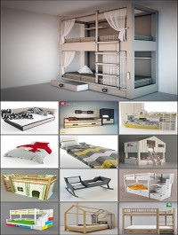 Modern Bed Childroom