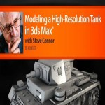 Modeling a High Resolution Tank in 3ds Max
